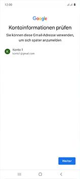 Samsung Galaxy A51 - Apps - Einrichten des App Stores - Schritt 15