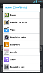 LG E975 Optimus G - E-mail - envoyer un e-mail - Étape 10