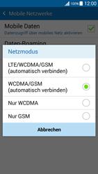 Samsung Galaxy Grand Prime - Netzwerk - Netzwerkeinstellungen ändern - 7 / 8