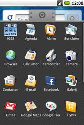 Samsung I5700 Galaxy Spica - internet - hoe te internetten - stap 2