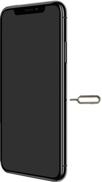 Apple iPhone XS - iOS 13 - Appareil - Insérer une carte SIM - Étape 2