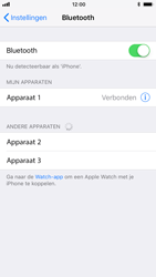 Apple iPhone 7 iOS 11 - Bluetooth - koppelen met ander apparaat - Stap 8