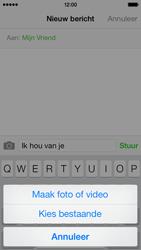 Apple iPhone 5c - MMS - afbeeldingen verzenden - Stap 8