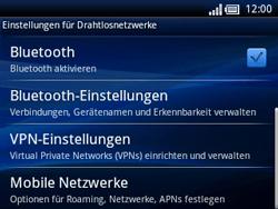 Sony Ericsson Xperia X10 Mini Pro - Ausland - Im Ausland surfen – Datenroaming - Schritt 7