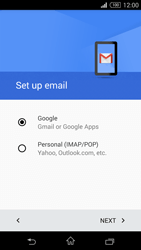 Sony Xperia Z3 Compact - E-mail - 032a. Email wizard - Gmail - Step 8