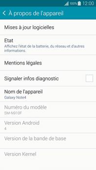 Samsung Galaxy Note 4 - Logiciels - Installation de mises à jour - Étape 6