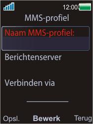Sony W595 - MMS - Handmatig instellen - Stap 8