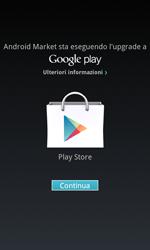 Samsung Galaxy S Advance - Applicazioni - Configurazione del negozio applicazioni - Fase 17
