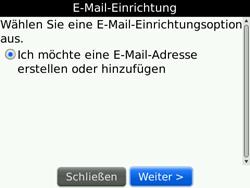 BlackBerry Bold - E-Mail - Konto einrichten - 2 / 2