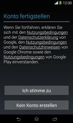 Sony Xperia E1 - Apps - Konto anlegen und einrichten - 16 / 23
