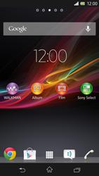 Sony Xperia Z - Internet e roaming dati - Disattivazione del roaming dati - Fase 1