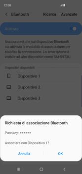 Samsung Galaxy S10 - Bluetooth - Collegamento dei dispositivi - Fase 8