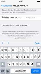 Apple iPhone 5S mit iOS 8 - Apps - Konto anlegen und einrichten - Schritt 34