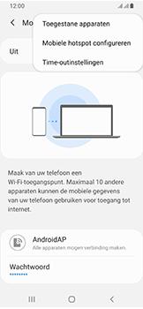 Samsung Galaxy A40 - Internet - mijn data verbinding delen - Stap 8