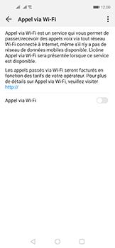Huawei Nova 5T - WiFi - Activez WiFi Calling - Étape 7