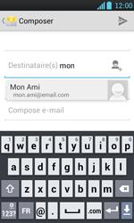 LG P700 Optimus L7 - E-mail - envoyer un e-mail - Étape 5