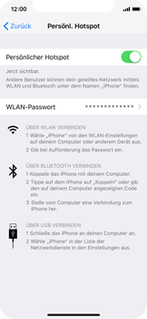 Apple iPhone X - Internet - Mobilen WLAN-Hotspot einrichten - 9 / 9