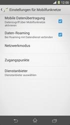 Sony Xperia Z1 - Ausland - Im Ausland surfen – Datenroaming - Schritt 10