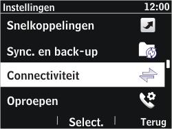 Nokia Asha 302 - wifi - handmatig instellen - stap 4
