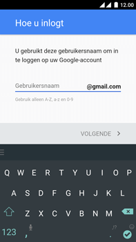 OnePlus 2 - apps - account instellen - stap 10