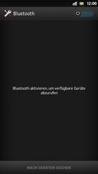 Sony Xperia S - Bluetooth - Verbinden von Geräten - Schritt 5
