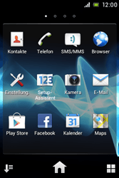 Sony Xperia Miro - Internet - Manuelle Konfiguration - 3 / 26