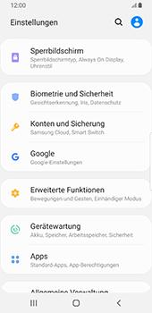 Samsung Galaxy S9 - Android Pie - Startanleitung - So aktivieren Sie eine SIM-PIN - Schritt 4