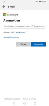 Huawei P Smart Z - E-mail - e-mail instellen (outlook) - Stap 5