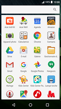 Acer Liquid Zest 4G Plus - Internet - Navigation sur Internet - Étape 2