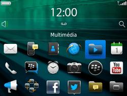 BlackBerry 9720 - Photos, vidéos, musique - Envoyer une photo via Bluetooth - Étape 3