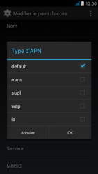 Wiko jimmy - Internet et roaming de données - Configuration manuelle - Étape 11