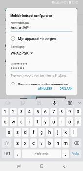Samsung galaxy-a6-plus-sm-a605fn-ds - WiFi - Mobiele hotspot instellen - Stap 10