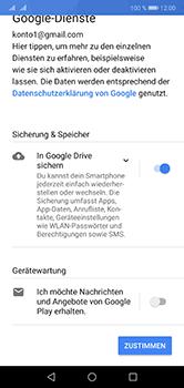Huawei P20 Lite - Apps - Konto anlegen und einrichten - 16 / 18