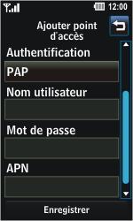LG GD510 Pop - Internet - Configuration manuelle - Étape 7