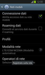 Samsung Galaxy Express - Rete - Selezione manuale della rete - Fase 12