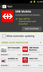 Samsung Galaxy S Advance - Applications - Installing applications - Step 23