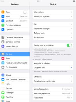 Apple iPad mini 2 - Logiciels - Installation de mises à jour - Étape 5