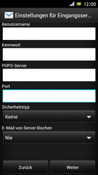 Sony Xperia J - E-Mail - Konto einrichten - Schritt 9