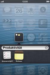 Apple iPhone 3GS - Startanleitung - Personalisieren der Startseite - Schritt 5