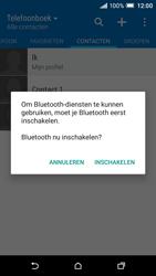 HTC One A9 - Contactgegevens overzetten - delen via Bluetooth - Stap 10