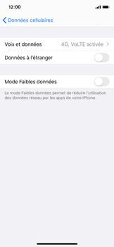 Apple iPhone XS - iOS 13 - Réseau - Activer 4G/LTE - Étape 5