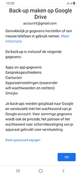 Samsung Galaxy A40 - Data - Maak een back-up met je account - Stap 10