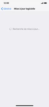 Apple iPhone X - iOS 12 - Appareil - Mises à jour - Étape 6