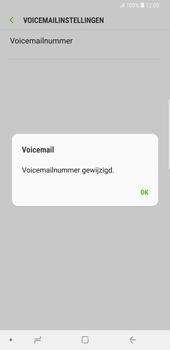 Samsung Galaxy S9 Plus - Voicemail - Handmatig instellen - Stap 9