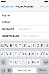 Apple iPhone 4 S - E-Mail - Konto einrichten - 8 / 29