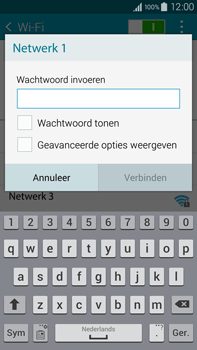 Samsung Galaxy Note 4 (N910F) - WiFi - Handmatig instellen - Stap 8