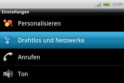 HTC A810e ChaCha - WLAN - Manuelle Konfiguration - Schritt 4