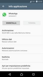 Sony Xperia X Compact - Applicazioni - Come disinstallare un