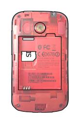 HTC A320e Desire C - SIM-Karte - Einlegen - Schritt 4