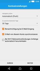 Sony Xperia M4 Aqua - E-Mail - Konto einrichten - 17 / 22